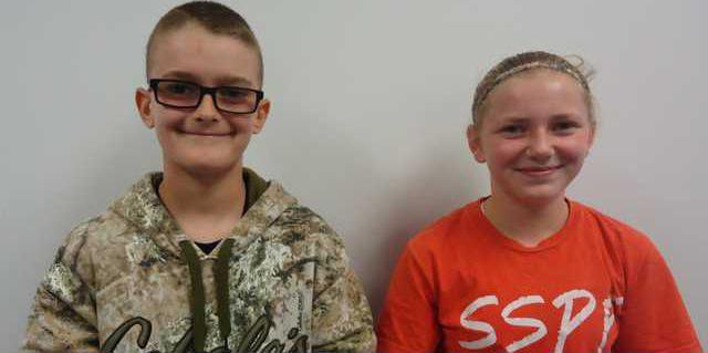 new vlc CPMS students of the month