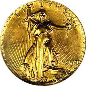 new vlc Double Eagle 1907 Ultra HR Obv Trompeter