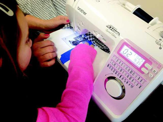 new vlc learning to sew