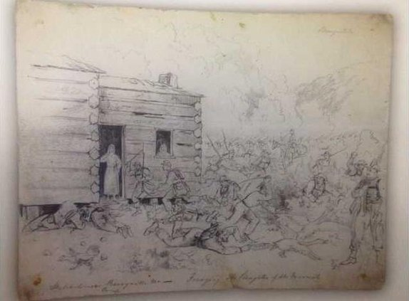 paw jm Missouri Raid Sketch