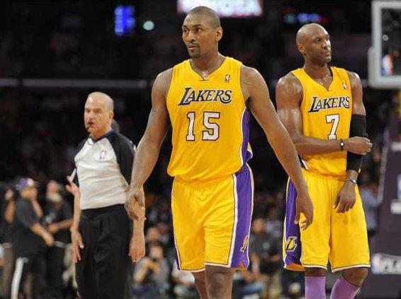 spt ap Lakers Artest
