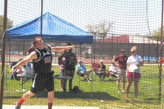 spt mm JAYCE BRACK DISCUS THROW