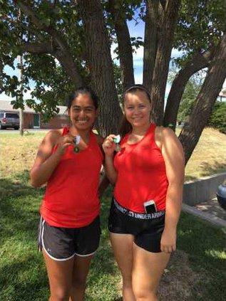 No. 1 doubles Priscilla Ramirez Katherine Snapp 1st
