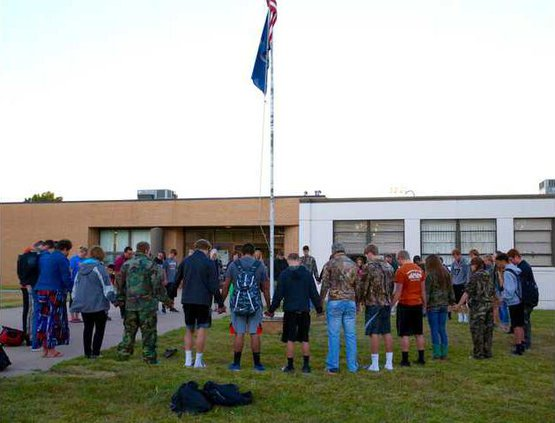 flagpole prayer