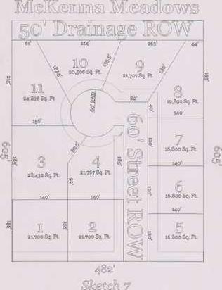 hoisington mckenna meadows map