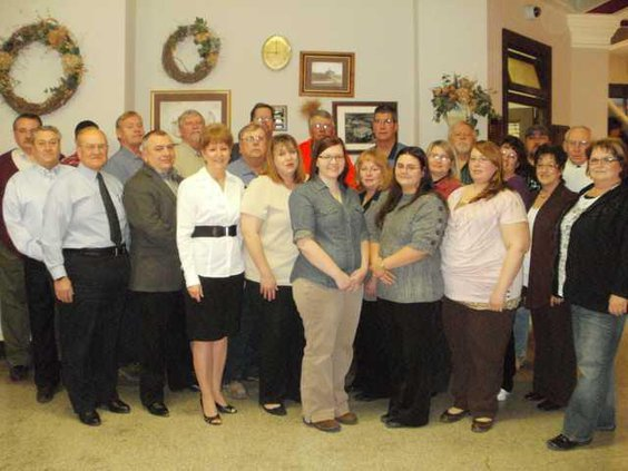 new ces county award staff
