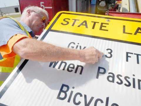 new deh bike signs