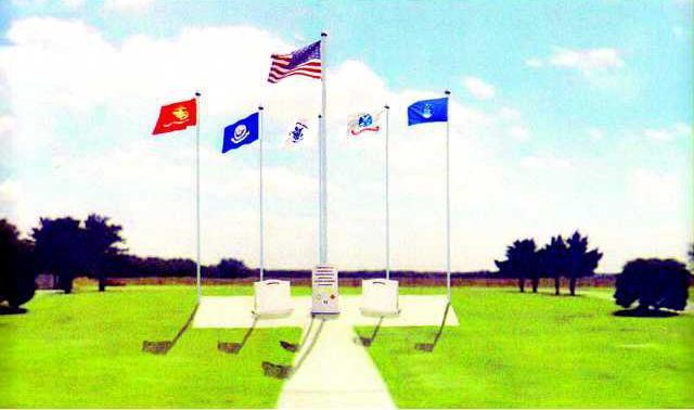 new deh county commission vets memorial art.tif