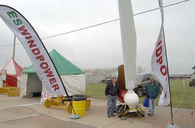 new deh farm expo wind power story