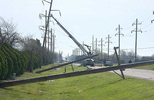 new deh storm damage pole pic