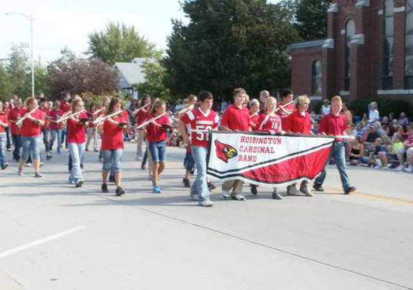 new kl hoisington parade