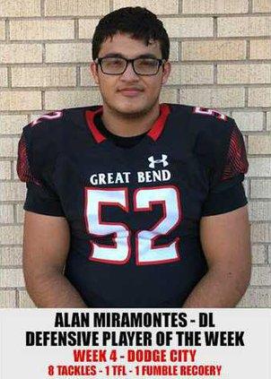 Alan Miramontes Defensive