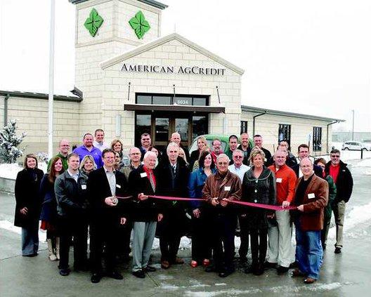new deh american ag credit ribbon cutting pic