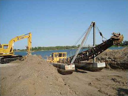 new deh county commission sand dredge pic