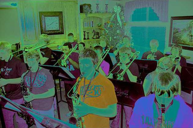 new deh gbhs jazz band pic