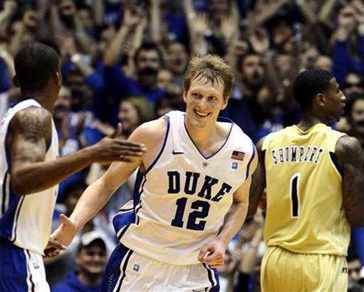Duke back to No. 1