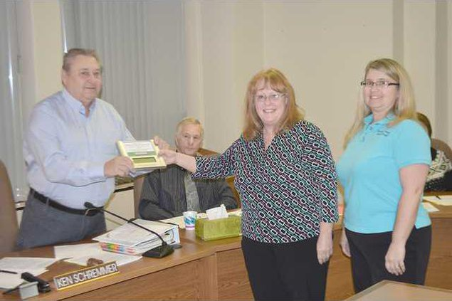 new deh county brestfeeding award pic