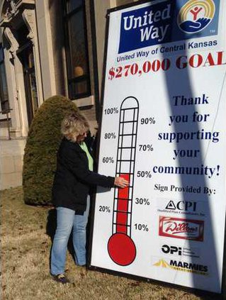 new deh united way thermometer pic