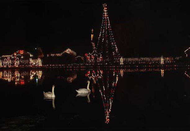 new trail of lights pic
