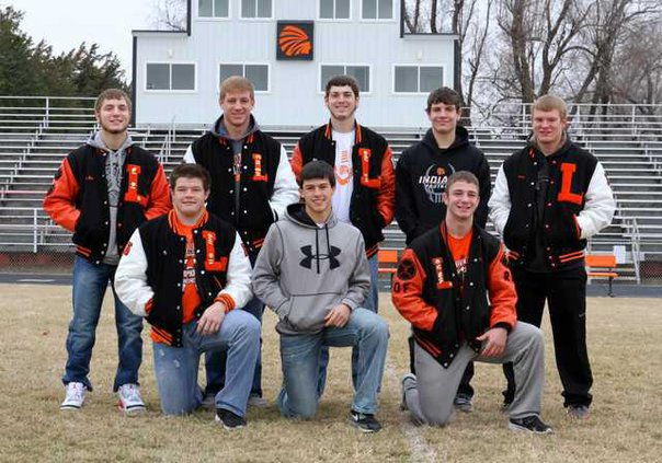 paw cp Larned All-League