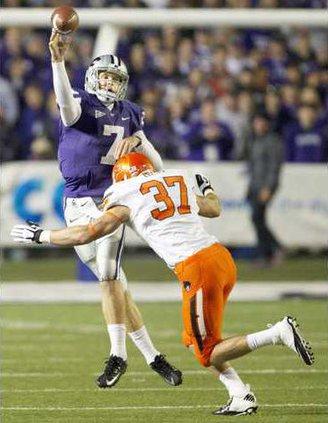 spt ap Kansas State Klein throws