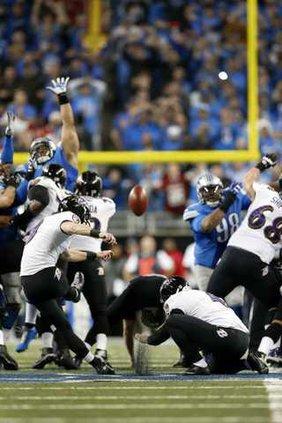 spt ap Ravens kicker