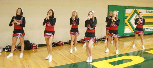 spt mm GBHS CHEERLEADERS
