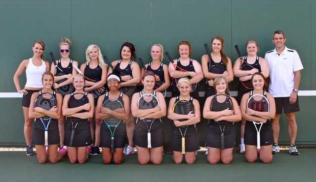 tennis team photo