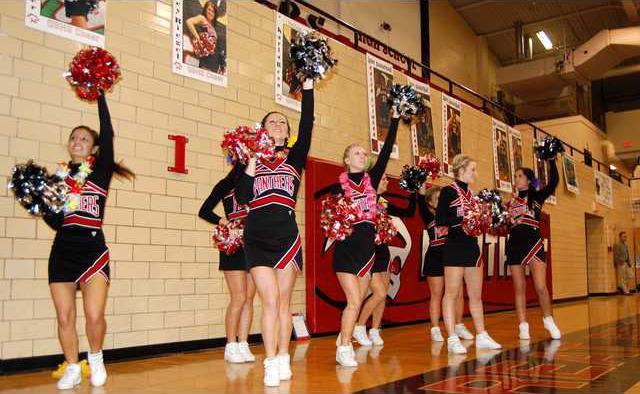 Great Bend Cheerleaders