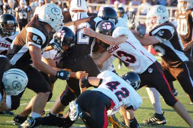 spt dh GBHS gang tackle