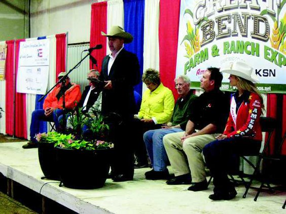 Darren Dale at 2015 Farm and Ranch show
