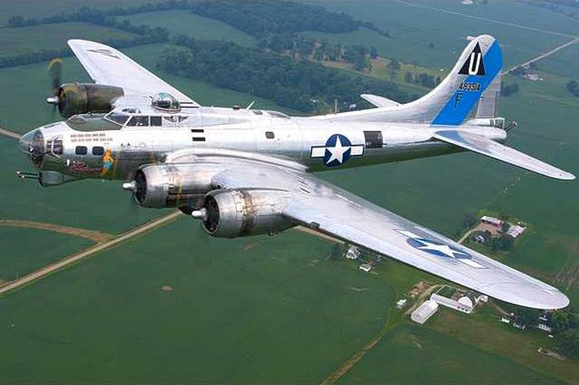 new ces B-17  airshow