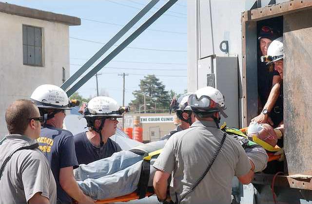 new deh elevator rescue drill main pic