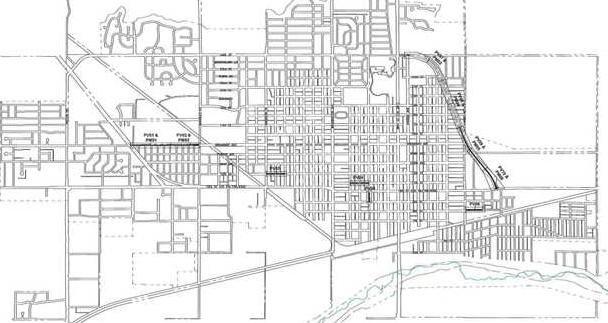 new deh street repair map
