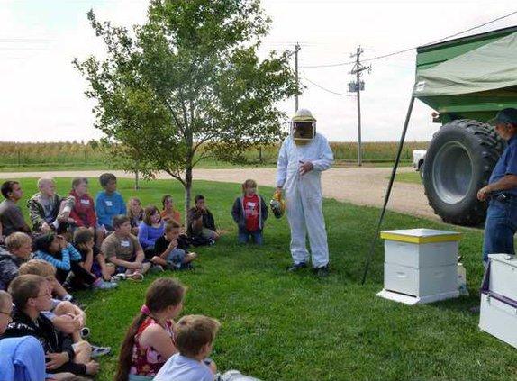 new slt kids ag day bees