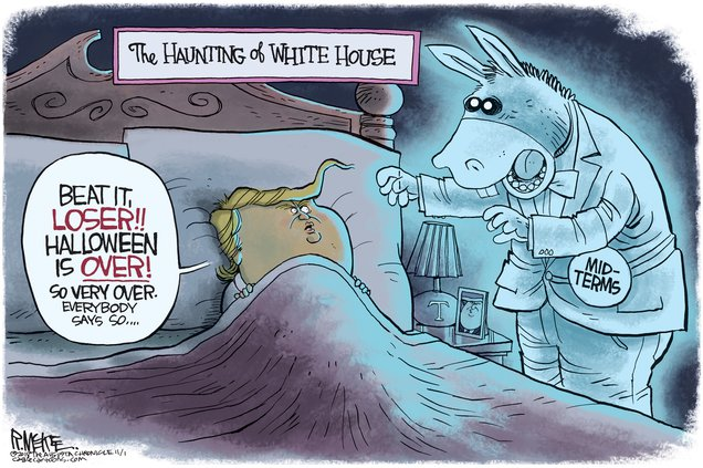 Haunting of the White House
