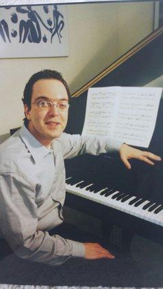 Concert pianist Sergio Gallo