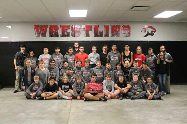 GBMS wrestling first