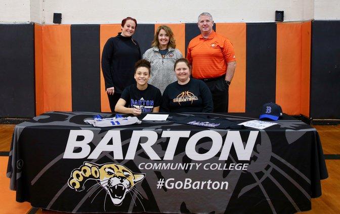 Katelynn Sanger signs with Barton Community College.jpeg
