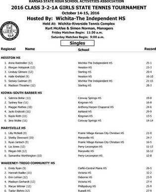 3A tennis state Page 1