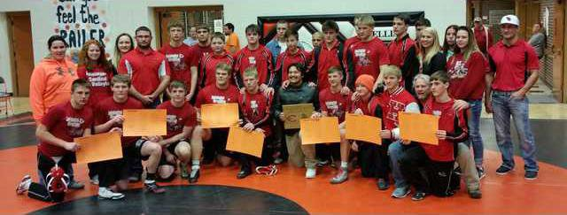 Hoisington wrestling