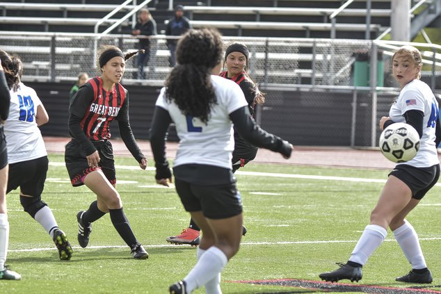Great Bend (7) Myra Ramirez scores the only goal of the game.jpg