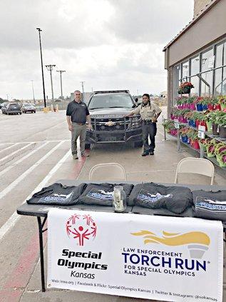 Kansas Law Enforcement Special Olympics Torch Run fundraiser