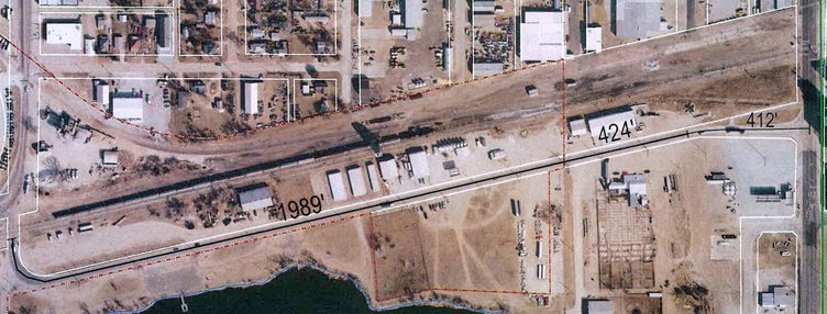 railroad ave project aerial pic