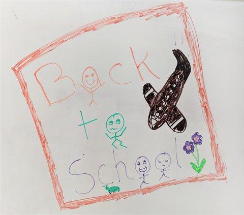 Back to school illustration