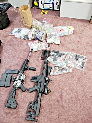 guns, drugs August 2019