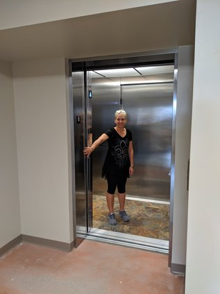 Dream Center elevator