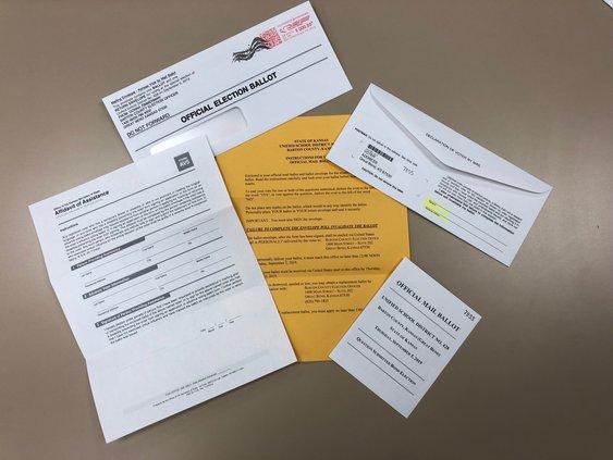 mail ballot contents 2019