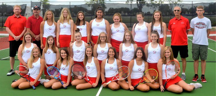 great bend girls tennis