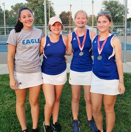 ellinwood girls tennis